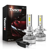 TXVSO8 G1 COB LED Car Headlights Bulbs H7 H11 H1 9012 9006 9005 Fog Lights 110W 20000LM 6000K White Waterproof 2Pcs