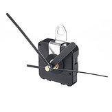 Lancette nere all'indietro in esecuzione silenzioso orologio al quarzo movimento fai da te Kit Office