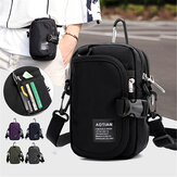 Men Women Nylon Waterproof Light Weight Crossbody Bag