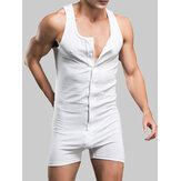 Mens Stretch Body Leotardo Calzoncillos Ropa interior Wrestling Singlet Tops