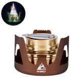 Hewolf HW-1836 Outdoor draagbare alcohol fornuis Mini brander oven Camping picknick