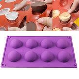 8半球球シリコーン型ケーキチョコレートキャンディー石鹸クッキーベーキング