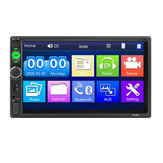 iMars Upgraded 7010B 7 Inch Car Stereo Radio MP5 Player IPS Full View HD Touch Screen Support DSP bluetooth FM USB AUX