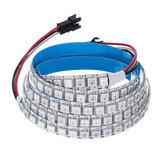100CM WS2812B 5050SMD Não-impermeável 100 LED RGB Strip Light IC Integrado para Hotel Bar Home DC5V
