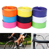 Honeycomb Design PU Lenkerband Drop Grip Bar Wraps Stoßfestes Anti-Schweiß 3cmX200cm Für Rennrad