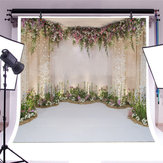 Bakeey Flowers Wall Scene Photography Prop Backdrops Floral Photographic Studio Photo Background Birthday Decorations Prop