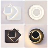 Modern 300° Rotating LED Wall Lamp Sconce Light Hotel Bedroom Bedside Hallway