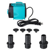 110V 60HZ Submersible Pump 600-3000L/H 200cm Ultra-quiet Water Pump Fountain Pump with Power Cord For Fish Tank Pond