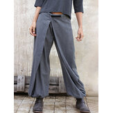 Frauen Pasteable Loose Pants Unregelmäßige Casual Gong Fu Hose