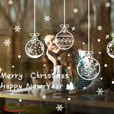 Miico ABQ6003 Christmas Sticker Creative Pattern Wall Stickers Room Decoration Removable