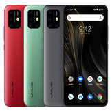 UMIDIGI Power 3 Global Bands 6.53 pulgadas FHD + Android 10 6150mAh NFC 48MP AI Cuad Cámaras 4GB 64GB Helio P60 4G Smartphone