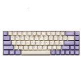 Enjoy 153 Key Milk Purple Cherry Profile ABS Keycaps Keycap Set para Mecánico Teclado