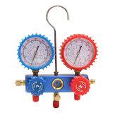 AC Kältemittel-Verteiler-Messgerät Set Klimaanlagen-Werkzeuge mit Schlauch und Haken für die Klimaanlage