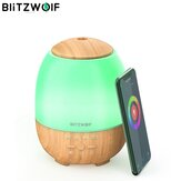 BlitzWolf® BW-FUN3 Wi-Fi Essential Oil Difusor Humidificador ultrasónico de aromaterapia Control de la aplicación Amazon Alexa Google Home Control con 7 Colorful Light