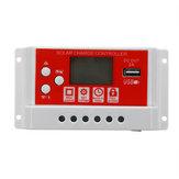 10A 12V / 24Vソーラーパネルバッテリーレギュレータ充電コントローラー3ステージPWM LCD