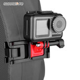 Sunnylife Universal Sports Camera Backpack Clamp Clips réglables pour GoPro 8/DJI Osmo Action / Osmo Pocket