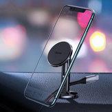 Baseus Kabelklem Sterk magnetisch dashboard Autotelefoonhouder Autohouder 360º rotatie voor 4,0-7,0 inch Smart Phone voor iPhone 11