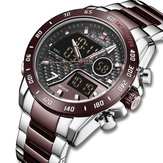 Orologio NAVIFORCE 9171 Full Steel Dual Display