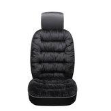 Almofada do assento dianteiro do carro universal Capa de almofada respirável Interior quente do automóvel de inverno