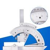 ユニバーサルベベル分度器多機能アングルルーラー0-320度ステンレススチールゴニオメーターアングルファインダー測定ツール