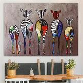 Impresiones en lienzo multicolores sin marco Pinturas Decoración para el hogar Imagen de arte de pared