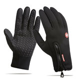 Uomo Donna Touch Screen Sci Guanti Winter Bike Caldo antivento impermeabile antiscivolo termico