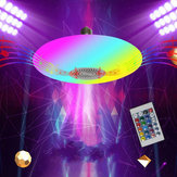 AC85-265 E27 30W RGB + White bluetooth موسيقى UFO LED ضوء Lamp Ceiling Lamp + 24Keys التحكم عن بعد مراقبة