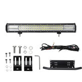 22Inch 108LED DC10-30V 648W 64800LM LED Work Light Bar Combo Light IP67 Line Group