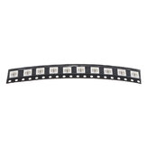 10PCS NS107S IC 5050 SMD RGB Built-in LED Chip DIY Light Beads for Strip Lamp Screen DC5V