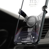 KUULAA Gravity Linkage Air Vent Car Phone Holder Car Mount for 4.5-6.5 Inch Smart Phone for iPhone for Samsung Xiaomi Redmi Note 8