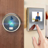 LCD 3Ech Digital Peephole Viewer 120 ° Door Campanello di sicurezza video fotografica