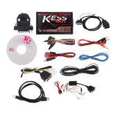 Red EU Version KESS V5.017 Sin límite de token KESS V2 Manager con Y KTAG V7.020 ECU Programador Coche Motor Analizador de diagnóstico