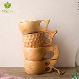 Hete Chinese draagbare houten koffiemok Rubber houten thee melk Cup Water drinken mokken Drinkware handgemaakte sap citroen theekopje Gift