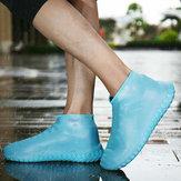 Floresan Gece Görüş Kullanımlık Ayakkabı Toz Geçirmez Yağmur Kapak Kapakları Kış Ayakkabı Içinde Adım Su Geçirmez Silikon 25-45 Yard