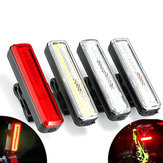 XANES® TL39 High Brightness COB Bike Tail Light 9 Modes IPX6 Waterproof USB Rechargeable Cycling Bike Lamp