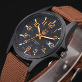 XINEW Nylon Band Casual Style Date Display Quartz Watch