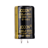 220UF 450V 22x40mm Radial Aluminium Electrolytic Capacitor High Frequency 105°C