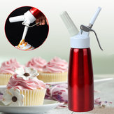 500 ml Whip Coffee Dessert Verse room Boterdispenser Whipper Cake Maker Tool Cake Beslag Dispenser