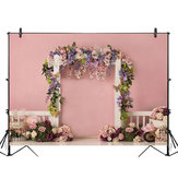 5x3FT 7x5FT 9x6FT Rosa Wall Rose Flower Decor Fotografia Sfondo Sfondo Studio Prop