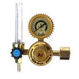 Valvola di regolazione del misuratore di portata Mig Tig calibro G5 / 8 pollici Argon