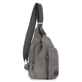 Canvas Chest Bag Christmas Gifts Outdoor Sport Camping Hiking Shoulder Backpack