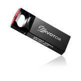 EIVOTOR U81 USB Flash Drive 128GB Waterproof USB Memory Stick USB3.0 Flash Drive Mini Pendrive Gifts for School Office Car PC Kids