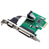 SSU PCI-E 1S1P PCI-E Transfer Printer Card Tax Control Card LPT Card Serial Port Parallel Port Expansion Card