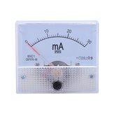 85C1 DC mA Ammeter 0-10MA 30MA 50MA 100MA Analog Current Panel Meter Ammeter