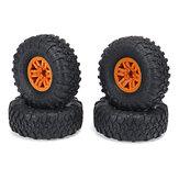 4PCS RC voiture jantes et pneus jantes pour HB jouets ZP1001 1/10 RC véhicules pièces de rechange