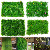 Artificial Plant Mat Wall Hedge Decorations Privacy Fence Panel Grass