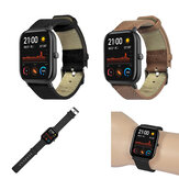 Bakeey Genuine Leather Strap Watch Band for Amazfit GTS Smart Watch
