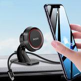 Yesidoの3.5-7.0インチのスマートフォンのためのケーブルホルダーが付いている磁気ダッシュボード車の電話ホールダー