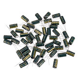50Pcs 10V 2200UF 10 x 20MM High Frequency Low ESR Radial Electrolytic Capacitor