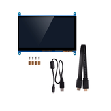 7-Zoll-Vollansicht LCD IPS Touchscreen 1024 * 600 800 * 480 HD HDMI Display Monitor für Raspberry Pi